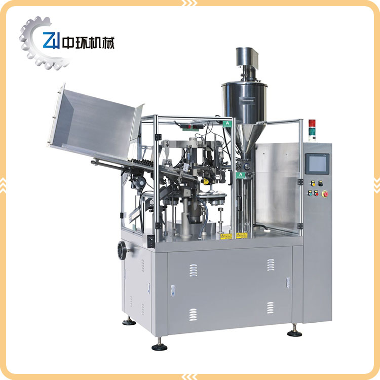 China Professional Manufacture Squeeze Tube Filling And Sealing Machine