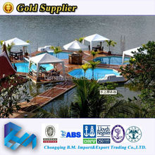 Plastic used floating dock sale from China