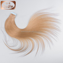 Professional factory of Brazilian human virgin 30 inch remy tape hair extensions