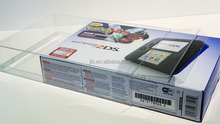 GAME BOY POCKET CRYSTAL CLEAR ACID FREE CASE NINTENDO BOX PROTECTOR