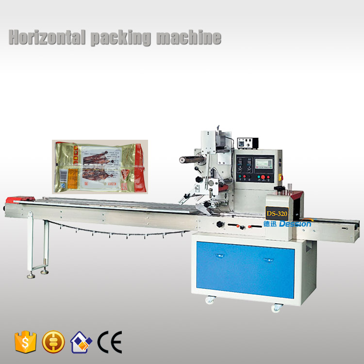 Automatic snacky meat tray packing machine