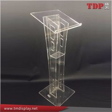 wedding stage platform acrylic podium