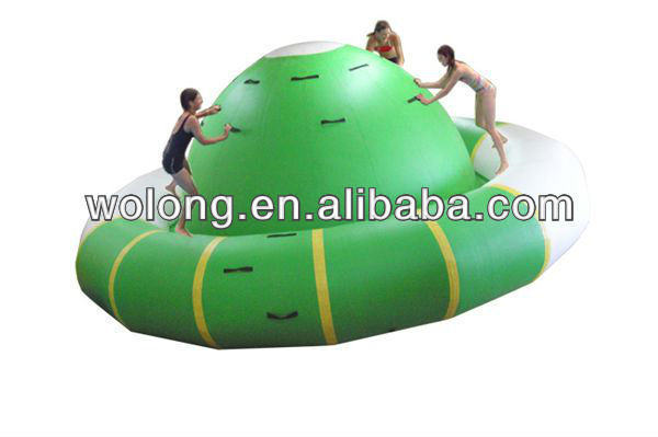 Rotating Top for commercial water parks/inflatable pools floating