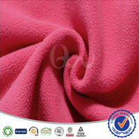 Both side Brush one side Anti Piling 100% Polyester Micro Fleece Fabric