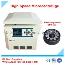 good quality lab biological chemical centrifuge for seperation and precipitation