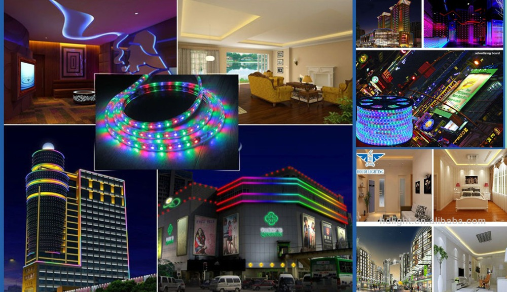 factory outlet 5050 60LEDs RGB multi color single colo flexible led strip light