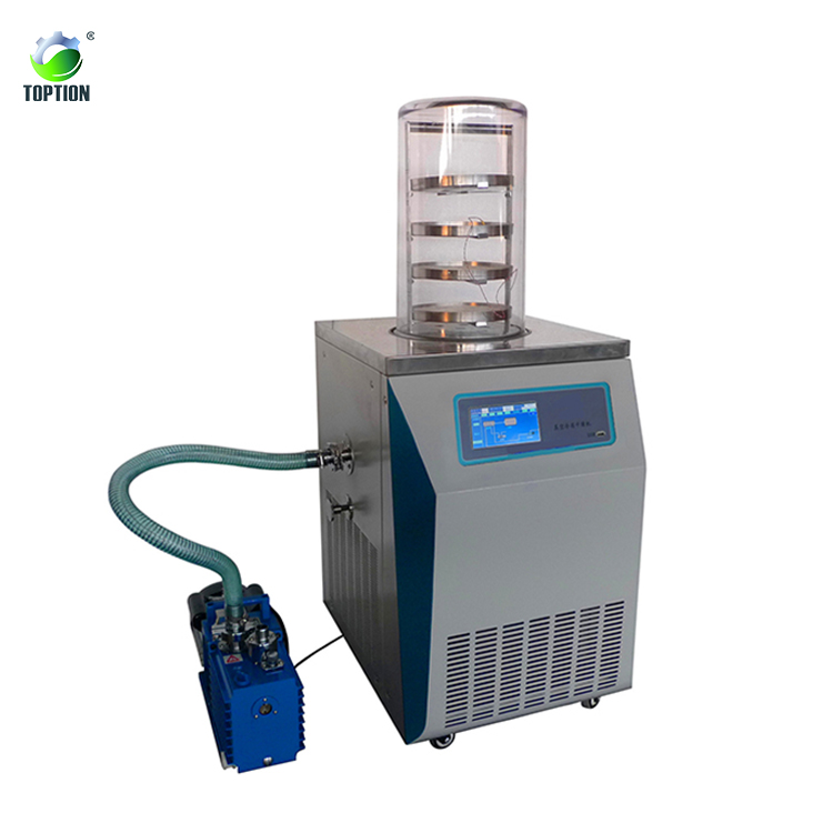 6kg/batch Pilot Freeze Dryer Suppliers,In-situ Freeze Dried Food Machine Hot Sale