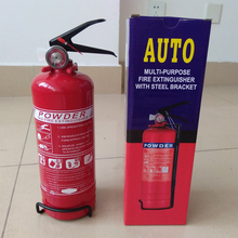 2lb ABC/BC dry chemical powder car fire extinguisher with ISO and MSDS