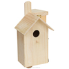 china factory FSC wild garden wooden carved pet bird cages carriers home house for outdoor