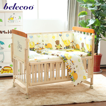 2017 belecoo baby crib manufacturers bed room furniture baby folding cot bed prices bed extender for baby