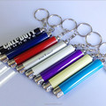 Customized logo OEM Led flashlight projector keychain