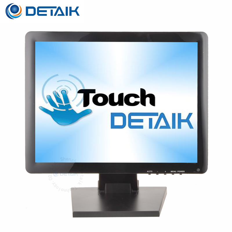 POS Manufacturer 15 inch LCD Cheap Touch Screen <strong>Monitor</strong>