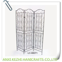 decorative wrought iron room divider