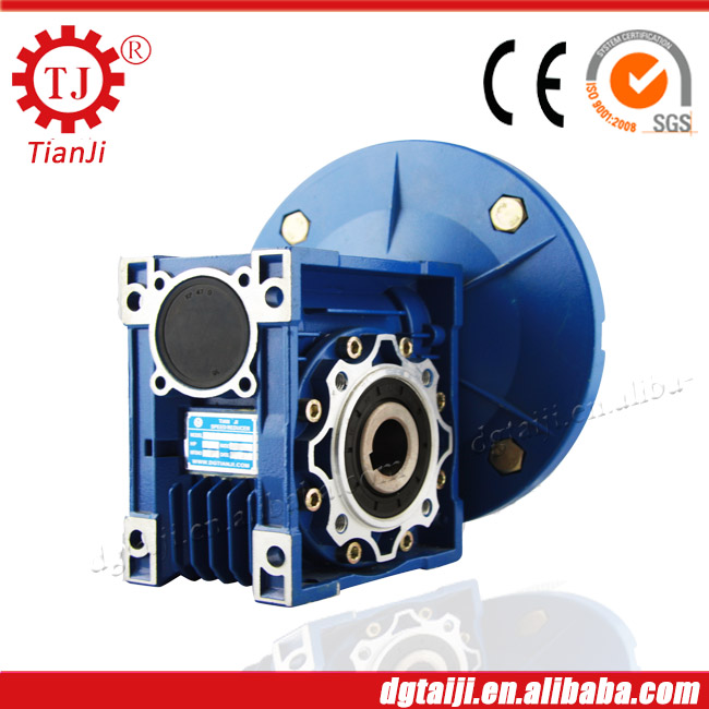 TJ brand auminum worm gearbox for power transmission,windmill gearbox