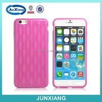 cell phone accessories soft tpu case waves pattern cover for iphone 6 plus