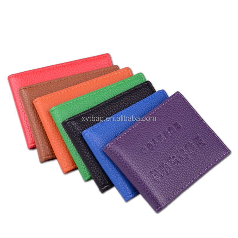 wholesale competitive price driving licence card holder with custom logo
