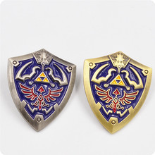 The Legend of Zelda Time Shield Metal Enamel Pin Bagge