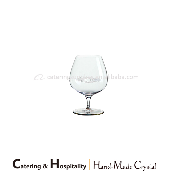 wholesale Stocked Handmade glassware brandy snifters glass crystal brandy glasses