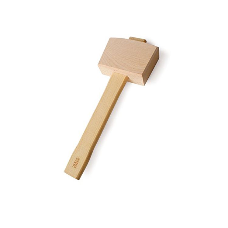 Wood material ice easy crushed hammer mallet