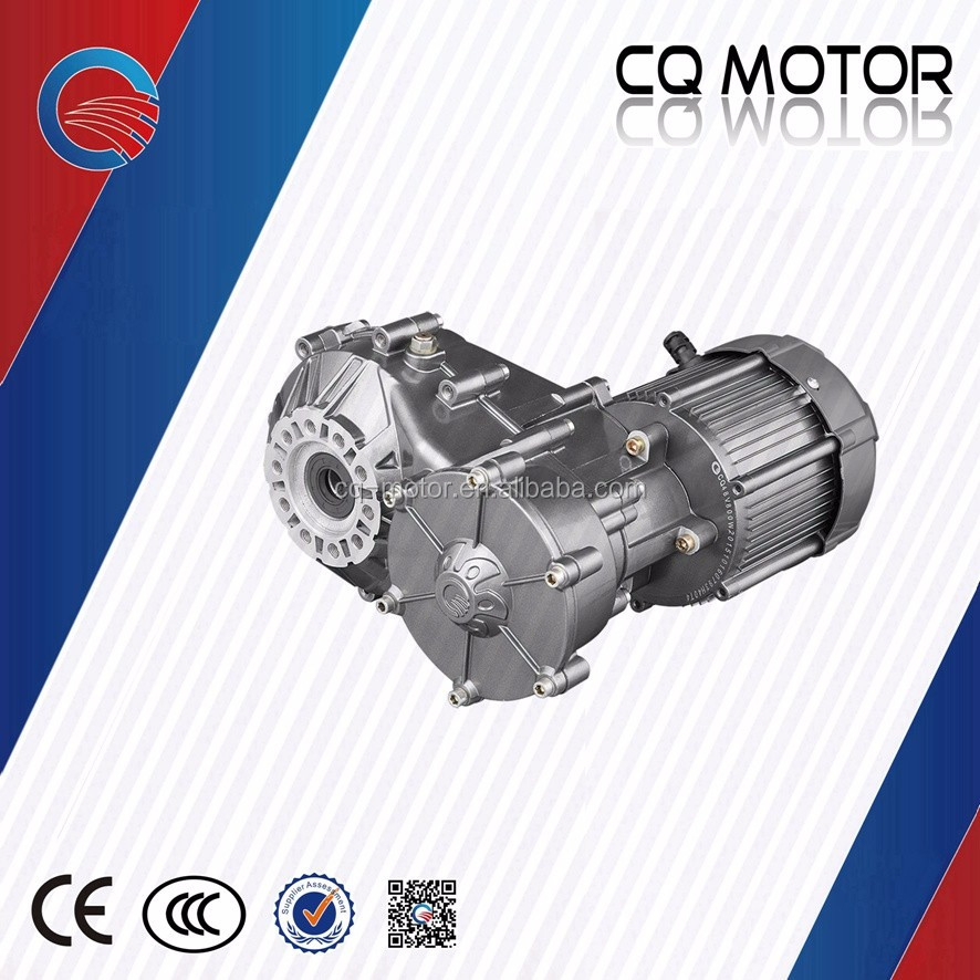 Automatic gear shift with two speed 48v 1000w motor kit for electric car