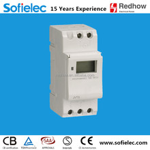 provide LED display Weekly Programmable Timer time switch AHC15A