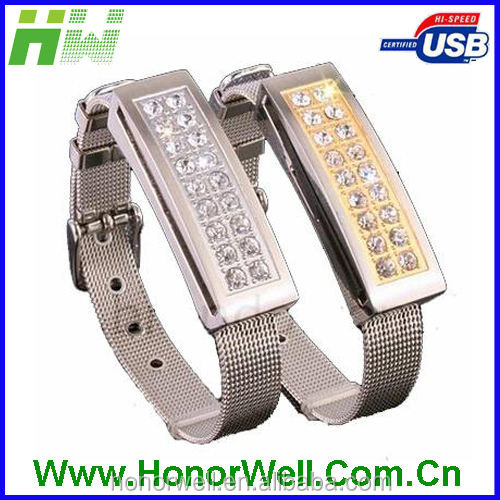 jewelry watch usb flash drive for Christian gift