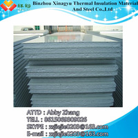 Fire retardant foam insulation board/styrofoam prices/metal eps sandwich panel