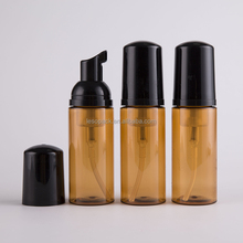 60ml 2oz <strong>P</strong> Amber Bottle Black Spray lastic Foam Pump Liquid Soap bottle