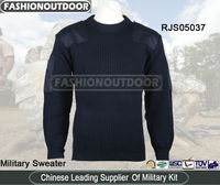 Akmax army Navy Nylon/Wool military commando sweater