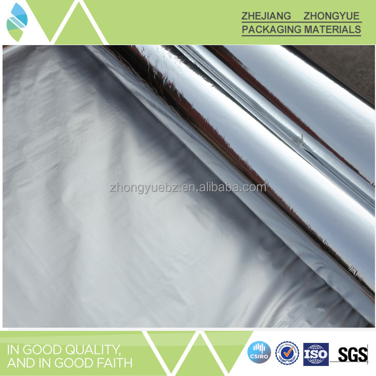 Aluminum metallized polyester film+LDPE material
