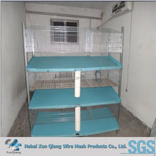 hot dipped galvanized rabbit huntch