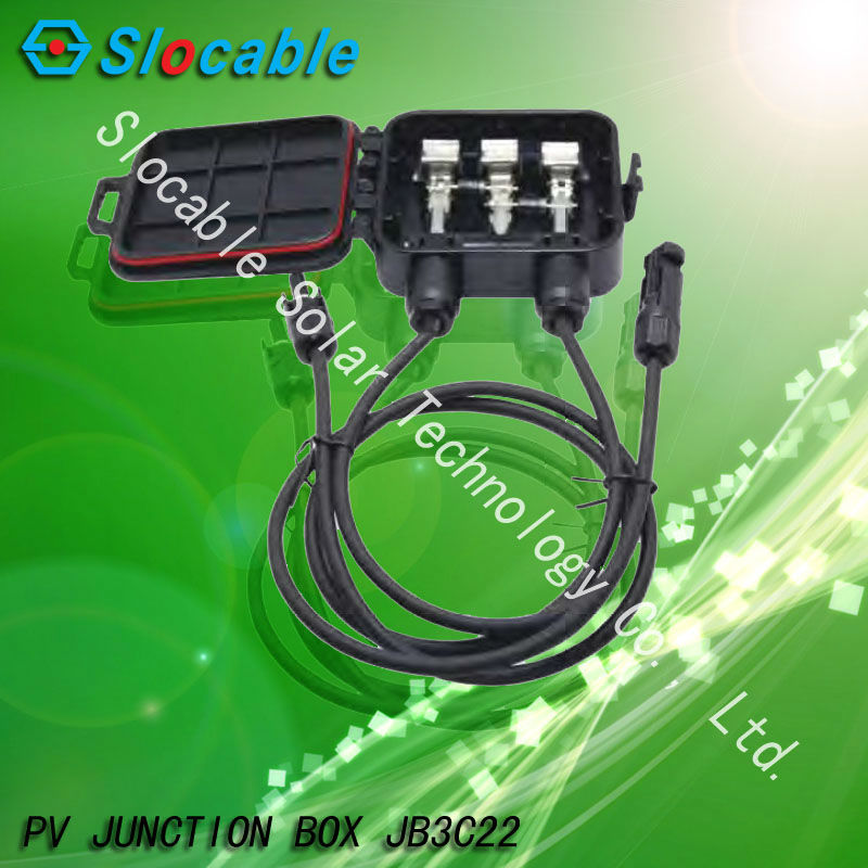 solar power junction box JB3C22 with TUV for solar panel