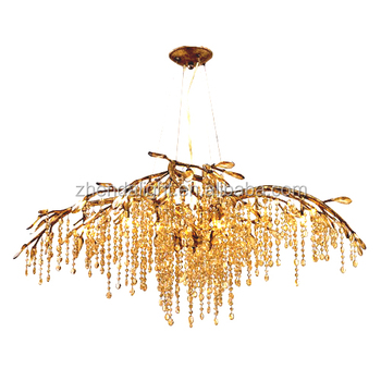Modern crystal chandeliers pendant lighting for home decor