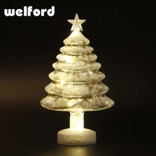 2017 Cheap mini glass table lamp gift for christmas