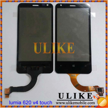 For Nokia Lumia 620 V4 version touch screen digitizer glass pannel