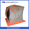 2 persons Winter canvas ice fishing tent for camping used