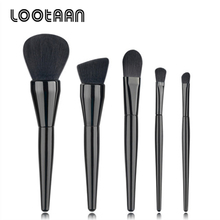 2017 Hot New Products 5Pcs/Set Foundation Powder Eyeshadow Brush Makeup Tools For Natural Cosmetics