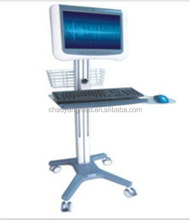 Hot sale mobile medical multi-function computer trolley with competitive price CY-F400N3