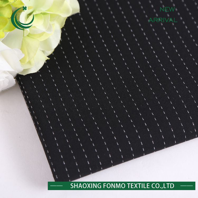 new technology product in china Fonmo free sample metallic polyester jacquard fabric