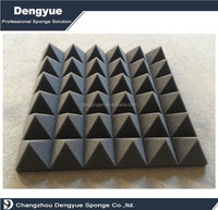 Diffuser Soundproofing Pyramid acoustic foam panels