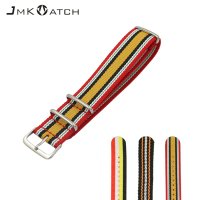 Nato Watch Accessories Hot Sale Zulu Watch Strap Thicken Waterproof Pure Nylon Watch Strap