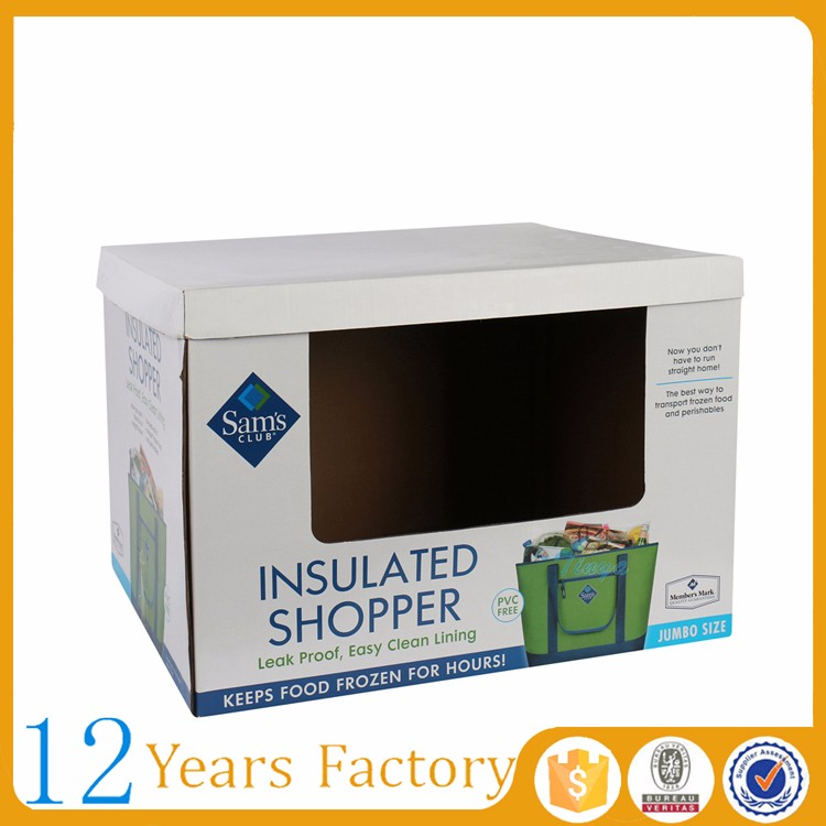 big packing carton box with specification