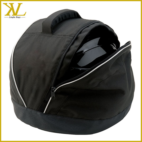 Men Customized Waterproof Tote Motorcycle Helmet Bag, Women Polyester Helmet Bag