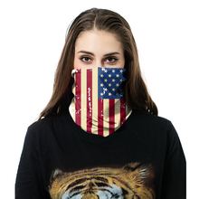 Cycling Sports Motorcycle Biker Muslim Scarf Bandana Malaysia American Country Flag Bandana