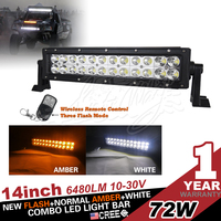 New 17inch 72w led light bar, 3w led light for off road 4wd atv truck ute use