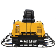 Used concrete power trowel machine/concrete ride on power trowel for sale