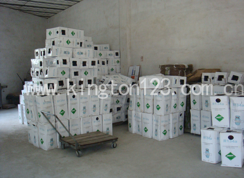 R134A Refrigerant Gas can replace r22