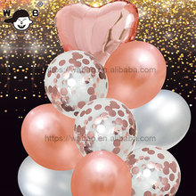 Party Balloon Supplier <strong>12</strong> Inch Inflatable Latex Rose King Color Balloons Party Decoration Balloon