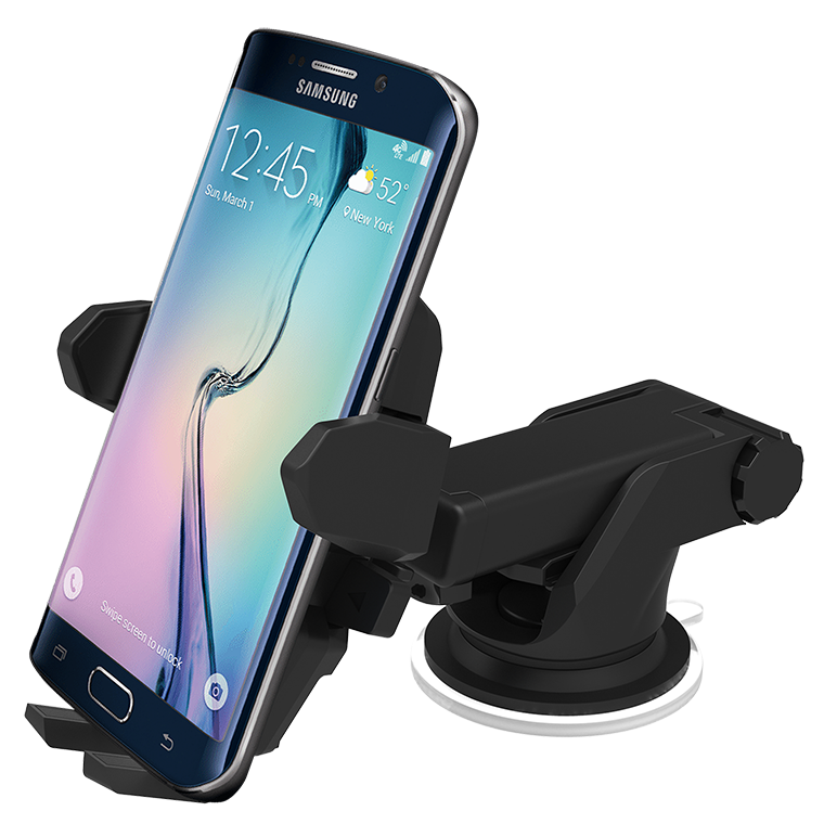 Suction Cup Car Mount for iPhone 6s Plus, 360 degree rotation Holder for iPhone 6s Plus, Universal Car Holder for Sony