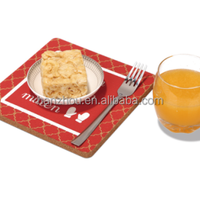 Simple stylecork tray cork serve tray,cork placemat